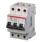 Выключатель автоматический S203 3п С 10А 6кА