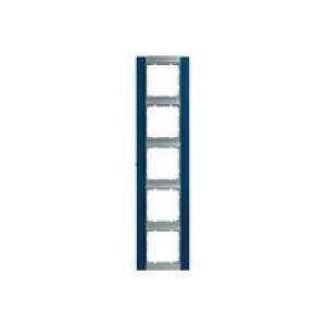 Рамка 5-ая, вертикальная (алюминий/синий)