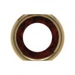 Промежуточная рамка для розетки (коричневый, декор под корень дерева)