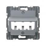 Накладка для 3 MINI-COM модулей (алюминий)