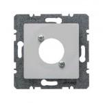 Накладка для электрических соединителей с отверстием XLR D (белый)