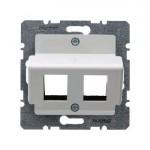 Накладка для модульных джеков AMP (белый)