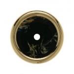 Накладка для поворотных выключателей (черный, декор под мрамор)