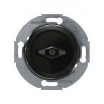 Жалюзийный поворотный выключатель, 1 полюсный (черный)
