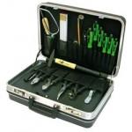 Двухкомпонентный чемодан с инструментами, 18 компонентов