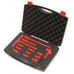 Чемодан с набором торцевых ключей VDE 1000В, 13 компонентов