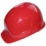 Защитный шлем для электромонтера, красный