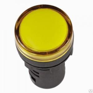 Светосигнальный индикатор IEK AD-22DS 12В жёлтый