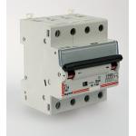 """Авт. выключатель, управляемый дифф. током с защитой от сверхтоков (АВДТ) DX. 4П, 10А, 30мА. Тип """"АС"""""""