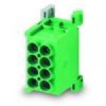 Клемма разветвительная 1 pol. 2,5-25x4 (зел.)