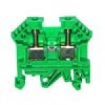 Клемма проходная RK 2,5-4 (зелёный)