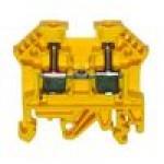 Клемма проходная RK 2,5-4 (жёлтый)