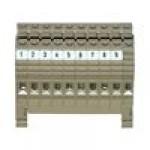 Клеммблок проходной маркированый KBL 2.5-4 PA