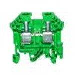 Клемма проходная RK 6-10 (зелёный)