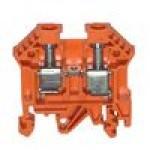 Клемма проходная RK 6-10 (оранжевый)