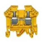 Клемма проходная RK 6-10 (жёлтый)