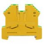 Клемма заземляющая SL 2,5/35 (желто/зеленый)