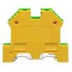 Клемма заземляющая SL 4/35 (желто/зеленый)