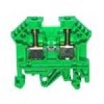 Клемма проходная RK 2,5 (зелёный)