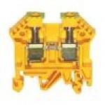 Клемма проходная RK 6-10/PE (желто/зеленый)