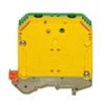 Клемма проходная RK 50/PE (желто/зеленый)