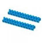 Клемма ответвительная 12pol. 4мм (синий)