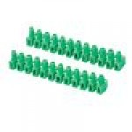 Клемма ответвительная 12pol. 6мм (зелёный)