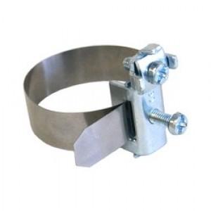 Хомут заземления с клеммой, для труб 5-48 мм