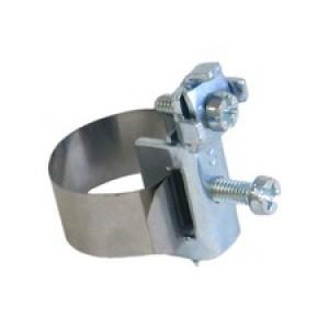 Хомут заземления с клеммой, для труб 5-25 мм
