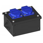 PC-2 Eco Schuko Power Connector