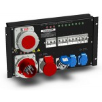 PD-1-63-3 CEE Mount-6U Power Distributor