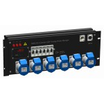 PM-6-10-1 Dimmer Touring CEE Power Manager