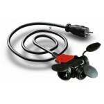 PS-3G1.5-Schuko Power Snake
