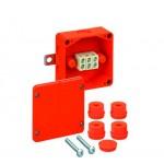 Огнестойкая распределительная коробка  WKE 2 (3х10)