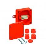 Огнестойкая распределительная коробка  WKE 2 (5х6)